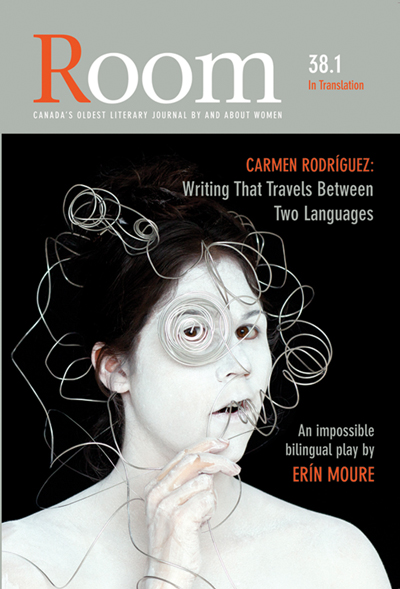 Room 38.1 cover with art by Meryl McMaster