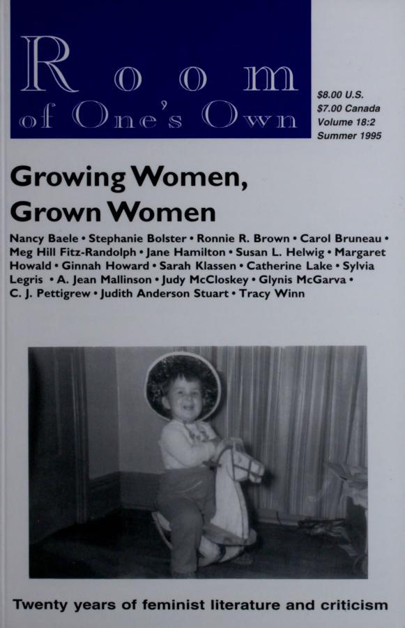 18.2: Growing Women, Grown Women