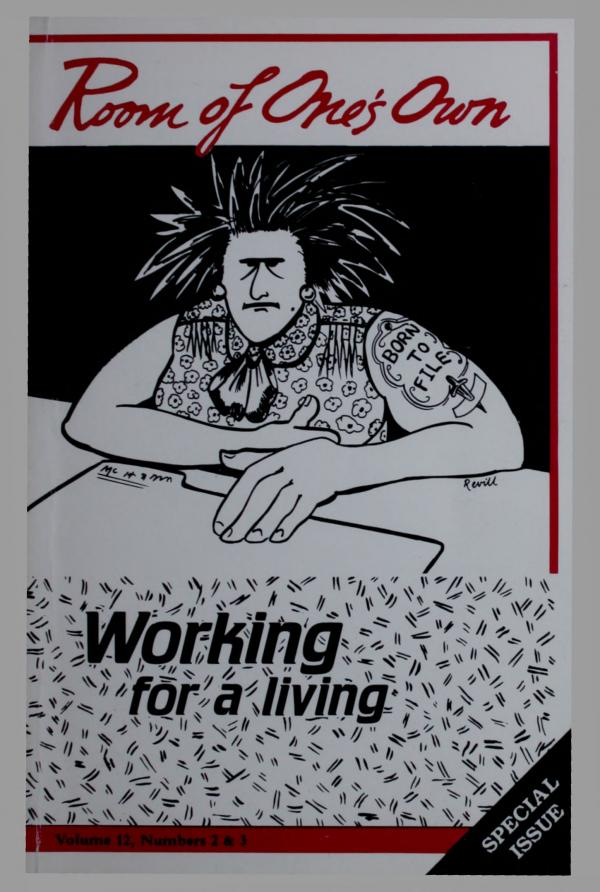 12.2&3: Working For A Living